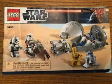 LEGO Star Wars 9490 manual Instructions Book Only C3PO R2D2