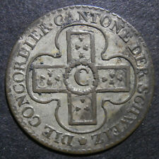 Switzerland canton Solothern - 1 Batzen 1826 - 10 rappen KM#79