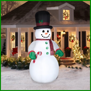 10ft Snowman Inflatable Outdoor Christmas Decorations