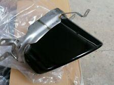 Audi A7 RS7 Blende Auspuffblende Chrom Tail Pipe Tip 4G8253823 A schwarz Neu