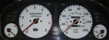 Lockwood Rover 600 140MPH with Key Icon WHITE (ST) Dial Kit 44S1