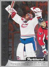 16/17 UD Parkhurst NHL Centennial Salute Jaroslav Halak S-13 Canadiens