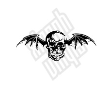 15cm Avenged Sevenfold vinyl sticker decal Deathbat logo car (window optional)