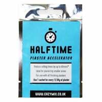 Eazymix Halftime Plaster Accelerator Mix Sachet Reduce Setting Times Of Plaster