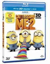 Blu Ray  CATTIVISSIMO ME 2 - (3D) (Blu-Ray 3D+Blu-Ray+Digital Copy) .....NUOVO
