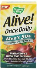 Nature's Way Alive! Once Daily Men's Multi-Vitamin Tablet - 60 Count