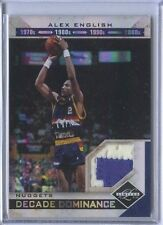 ALEX ENGLISH 16/25 GAME USED PATCH 2011 12 LIMITED