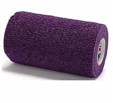 """Co-Flex Coflex Bandage Dog Tape Wrap 4""""x5 Yards Purple Horse Pet"""