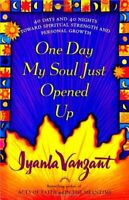 ONE DAY MY SOUL JUST OPENED UP: 40 Days and 40 N... by Iyanla Vanzant, Paperback