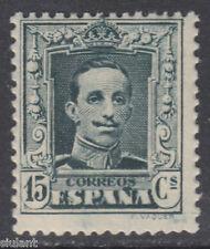 ALFONSO XIII VAQUER * 315B TIPO II - AÑO 1922 - GOMA ORIGINAL Y BIEN CENTRADO