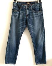 Lucky Brand Women's Size 4 / 27 Sienna Tomboy Crop Blue Denim Jeans