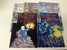 H.P LOVECRAFTS DREAM QUEST OF UNKNOWN KADDATH #1-5 (MOCK MAN/0218558) FULL SET