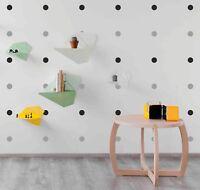 120 Polka Dot Wall Art Stickers Decals Children Kids Room Vinyl Home Decor Spots