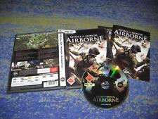Medal of Honor-Airborne-PC sólo DVD edición con manual alemán