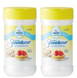 Two x Sucralose Sweetener Granules Jars ~ Each=75g ;Expiry in 2 Years;New/Unused