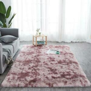 New Shaggy Collection Rugs Small Extra Large Living Room Floor Carpet Rugs Lilac