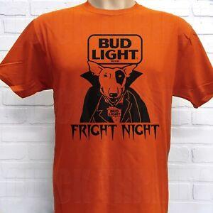 RETRO BUD LIGHT SPUDS MACKENZIE ***FRIGHT NIGHT*** HALLOWEEN T-SHIRT