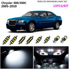 13Bulb Xenon White 6K Interior Light Kit LED Fit For 2005-2010 Chrysler 300/300C