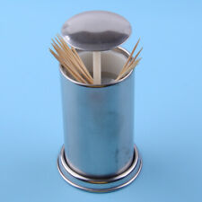 Kitchen Holder Box Automatic Press Retractable Dispenser for Home Bar Toothpick