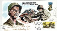 Desmond Doss(1919-2006) Autographed Cover US Army Medal of Honor Winner