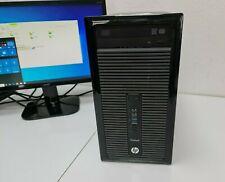 HP ProDesk 400 G1 PC i5-4570 3,20GHz Neu 256GB SSD 8GB Windows 10 Pro Computer