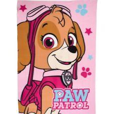 Mantas de color principal rosa de poliéster para niños