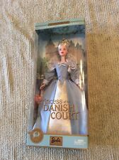 Dolls of the World Princess of the Danish Court Barbie Doll NIB 2002 Mattel