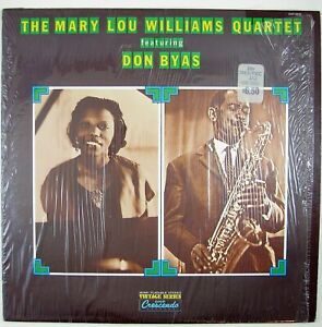 MARY LOU WILLIAMS QUARTET Feat. DON BYAS Self Titled LP 1974 JAZZ  NM- NM-