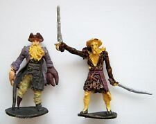 Pirati dei Caraibi Davy Jones e PALIFICO MONSTER KO figura di Knock Off giocattolo