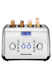 NEW KitchenAid Artisan 4 Slice Toaster Slice Stainless: KMT423