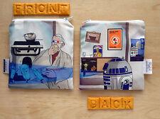 New Reusable Snack Bag Star Wars Obi Wan Kenobi  R2D2 Eco-Friendly Bag Geek Gift