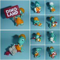 Ü-Ei Komplett-Satz - Die Dapsy Dinos + BPZ -  Deutschland 1995