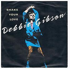 """Debbie Gibson-Shake your love/7"""" Single von 1987"""