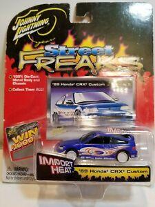 Johnny Lightning White Lightning Street Freaks '89 Honda CRX Custom Blue 2004