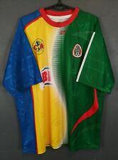 RARE MEN'S FC CLUB AMERICA MEXICO FOOTBALL SOCCER SHIRT JERSEY MAILLOT SIZE XL