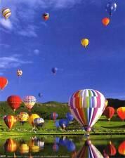 Hot Air Balloons: 8x10 In. Photo Art Print/Mini-Poster
