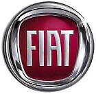 Fregio Stemma Logo Rosso Fiat Posteriore Per Fiat 500 Dal 2007 > Diametro 95mm
