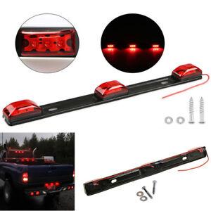 9LED Red Identification Clearance Light Bar For Camper Trailer Cargo Trailer RV