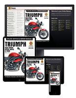 Triumph 1050 Sprint ST, Speed Triple & Tiger (2005-2015) Haynes Online Manual