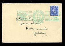 CZECHOSLOVAKIA WW2 FIELD POST on GB 1943 EXHIBITION SPECIAL MACHINE CANCEL