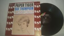 SUE THOMPSON - PAPER TIGER VINTAGE HICKORY RECORDS MONO LP - LPM-121