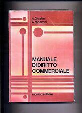 A.Graziani-G.Minervini # MANUALE DI DIRITTO COMMERCIALE # Morano Editore - V