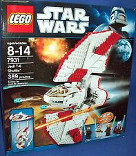 Lego 7931 Jedi T-6 Nave Star Wars Jubilado Nuevo 389 Piezas