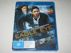 Eagle Eye - Shia LaBeouf - Brand New & Sealed - Region B - Blu Ray