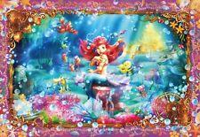 Tenyo Japan Jigsaw Puzzle D-1000-419 Disney Little Mermaid Ariel (1000 Pieces)