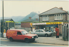 Risca 1991 Close Up POST OFFICE & Royal Mail Van, Newport Road, Monmouthshire