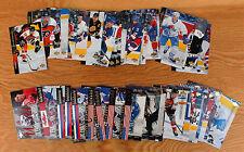 1994-95 Upper Deck Hockey; Hull; Mogilny; Neely; Fetisov; Leetch; Jonsson; Peca