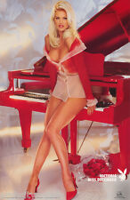 LOT OF 2 POSTERS : VICTORIA SILVSTED - 11/96 PLAYBOY CENTERFOLD  #3546    LP40 O