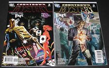 Countdown to Mystery 2 & 3 (2007-2008, DC) 1st Print Gerber Justiniano Wong