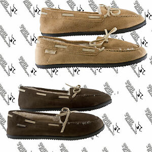 NORTHSIDE WOMEN'S  NADIA MOCCASIN MOC SLIPPERS WITH OUTDOOR INDOOR OUTSOLE US 7